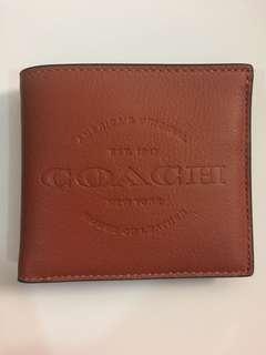 Authentic Coach Brown Wallet