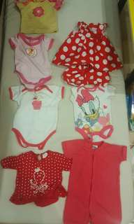 7 sets Baby Clothes for girl