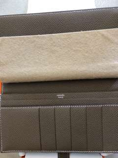 Hermes bearn long wallet