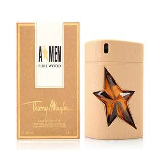 THIERRY MUGLER A MEN PURE WOOD EDT FOR MEN 100ML
