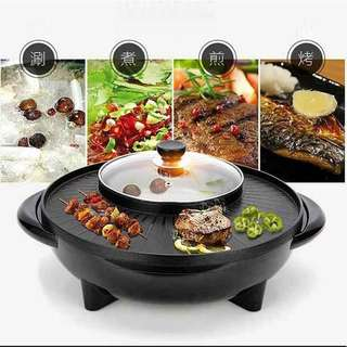 2in1 Hot Pot & Grill