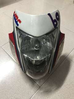 Super 4 CB400 sonic headcowl / headlight