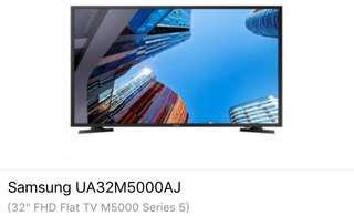 Brand New Samsung LED FULL HD TV UA32M5000AJ