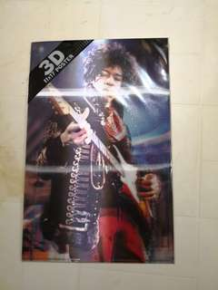 Collector's Jimi Hendrix poster