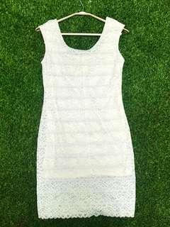 *sale item* Lacey bodycon dress
