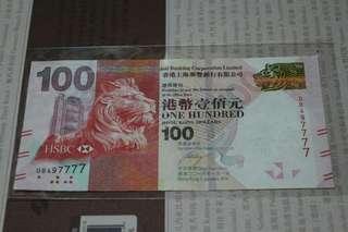 QB497777 HSBC 2016年 $100