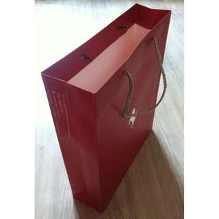 (半價) FERRARI Paper Shopping Gift Bag 紙袋 禮物袋 (Half Price)