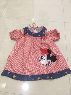 Minie mouse dress