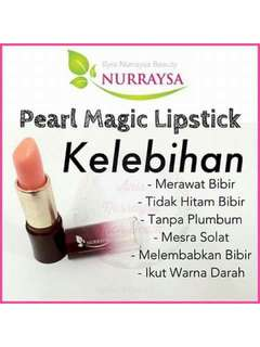 Pearl magic lipstick