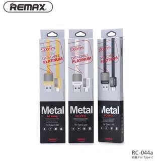 Remax Type-C  USB C PlatinumMetal Fast Charge Cable