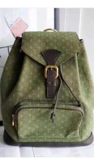 Lv牛仔背包