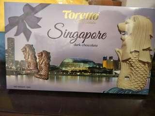 🚚 新加坡名稱魚尾獅巧克力