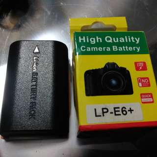battery pack LP-E6 for Dslr canon 6D/5D/60D