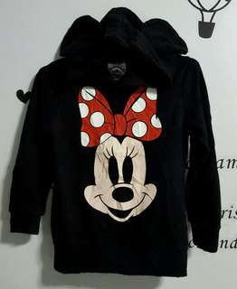 Minnie Mouse Hoodie Sweater ( for 8/9 yrs old)