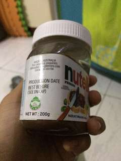 For Sale! nutella 200g