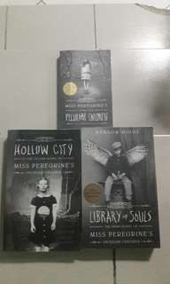 Miss Peregrine's Home for Peculiar Children by Ransom Riggs(Set)