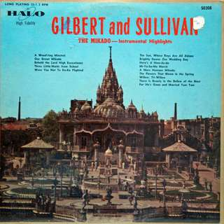 gilbert and sullivan Vinyl LP used, 12-inch, may or may not have fine scratches, but playable. NO REFUND. Collect Bedok or The ADELPHI.