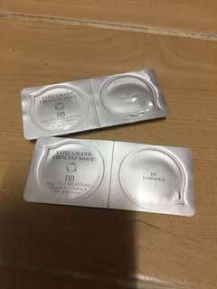 Estée Lauder crescent white bb full cycle brightening cushion compact sample