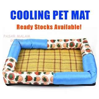Instock Cooling Cushion Mat Bed For Cat Dog Pet Pets Comfort Mattress