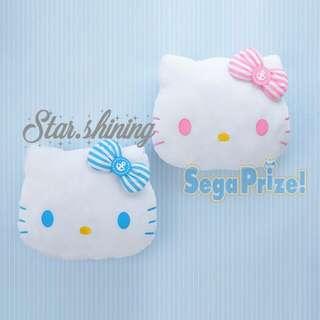 Hello Kitty✩Sanrio吉蒂頭公仔咕臣 抱枕 三麗歐 貓 Cat Sailor Cushion