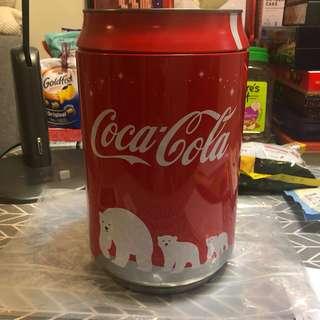 可口可樂收藏品 大鐵罐 可放6罐330ml 可樂