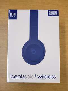 Beats Solo3 wireless headpohne