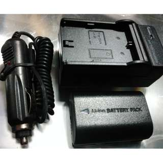 travel charger and battery pack Lp-E6