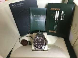 Rolex 116660 deep sea
