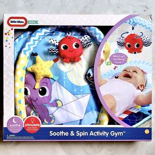 (In-Stock) Little Tikes Soothe 'n Spin Activity Gym (Brand New)
