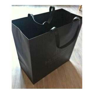 (半價) HUBLOT GENEVE Paper Shopping Gift Bag 紙袋 禮物袋 (Half Price)