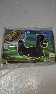 PVC rain shoe cover