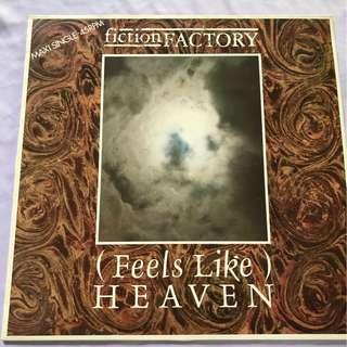 Vinyl Records by Fiction Factory - Feels Like Heaven