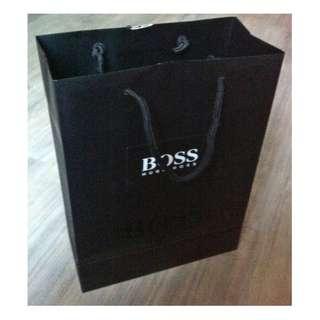(半價) HUGO BOSS Paper Shopping Gift Bag 紙袋 禮物袋 (Half Price)