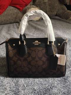 COACH Mini Bennet Handbag