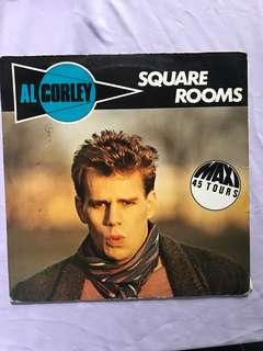 """Vinyl Record by Al Corley -Square Room 12"""""""