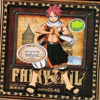 Fairy Tail Chapter 25-48 Anime DVD