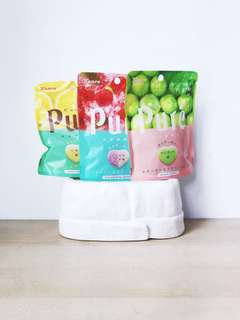 Japan Goods & Snacks Kanro Puré Gummy Candies 3 variants