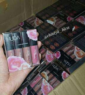 HUDA BEAUTY NUDE and PINK COLLECTION