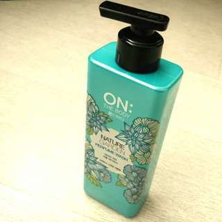 Korea韓國On the Body Perfume Nature Garden Body Wash 持久香水沐浴露自然花園(綠)  500g