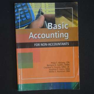 Basic Accounting for Non-Accountants K-12 Grade 8