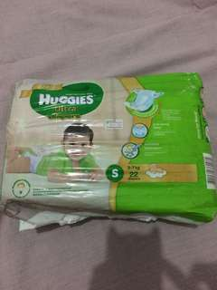 Huggies Ultra Diapers Small (22pcs.)