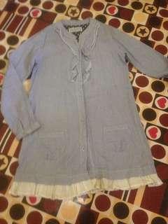 Long blouse for girl