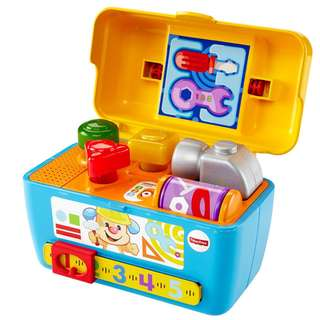 Fisher Price CGV11 Laugh & Learn Smart Stages Toolbox
