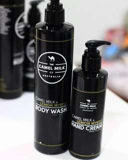Camel Milk Body Wash & Hand Cream