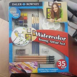 Watercolor Set Daler Rowney