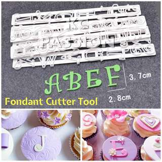 🎂 6PCS ALPHABET LETTERS • NUMBERS CUTTER MOLD TOOL for Cookies • Fondant • Dough • Cake Decorations