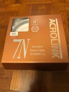 Acrolink 7N-PC4030 Anniversario 1.5m Power Cable (No nego)