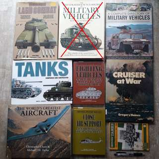Military war history weapon aircraft books