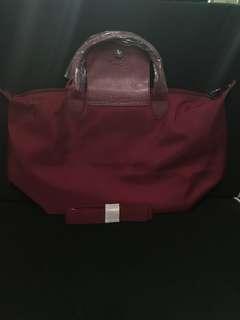 Authentic Longchamp med Bag w/ sling