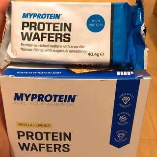Myprotein Wafers(Vanilla)